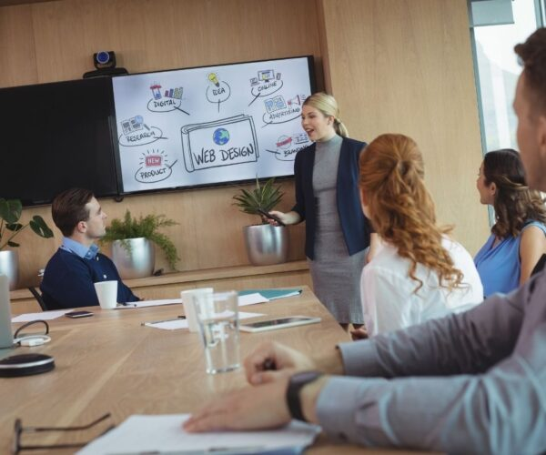How To Use An Interactive Whiteboard For Business Meetings